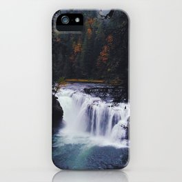 Lower Lewis River Falls #2 iPhone Case