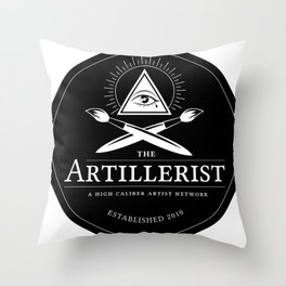 High Caliber Tee Throw Pillow