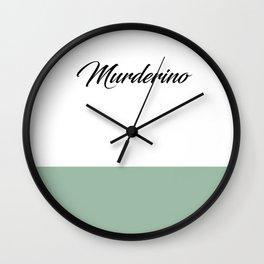 Murderino-MFM Wall Clock