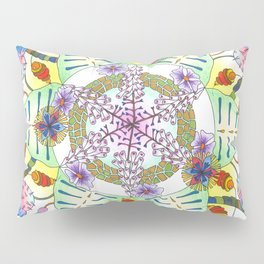 Foxgloves and Thistles Pillow Sham