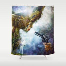 Betrayal Shower Curtain