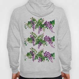 Wisteria and Ivy Hoody