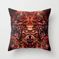 soldier Throw Pillows featuring Soldier by Zandonai