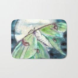 Luna Moth Bath Mat