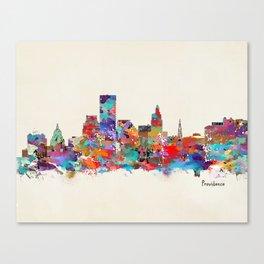Providence Rhode Island Canvas Print