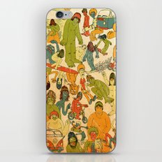 Let's Hit The Beach  iPhone & iPod Skin