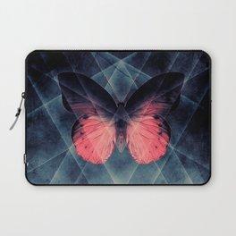 Beautiful Symmetry Butterfly Laptop Sleeve