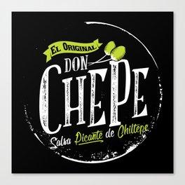 Don Chepe Canvas Print