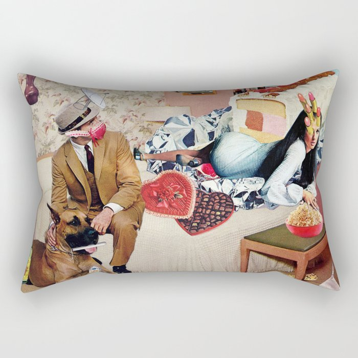 PMS Night In Rectangular Pillow