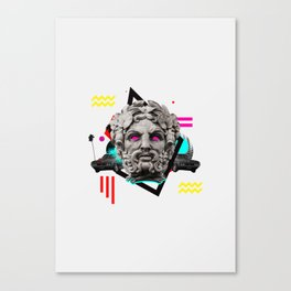 How Low Canvas Print