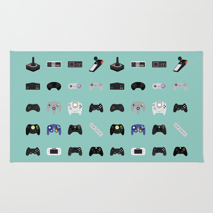 Console Evolution Rug