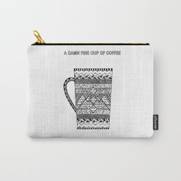 Twin Peaks - Damn Good Coffee Carry-All Pouch