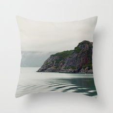 Ripples in the Bay Throw Pillow