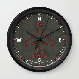 Heading Indicator Aircraft Pilot Clock Wall Clock