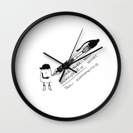 Complete plz Wall Clock