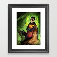 Little Demon Spawn Framed Art Print