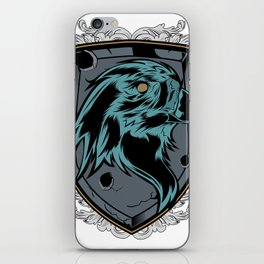 save the eagles iPhone Skin
