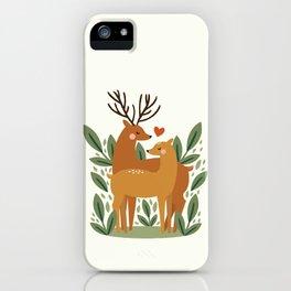 Deer Love iPhone Case