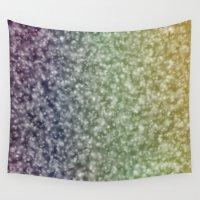 glitter Wall Tapestries featuring Glitter by David Zydd