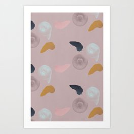 Blueberries 1 Art Print