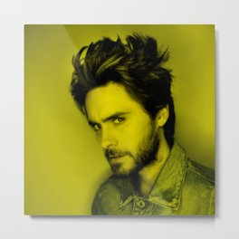 Jared Leto - Celebrity (Photographic Art) Metal Print