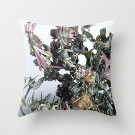 Floating Roots Colour Ed. 2 Throw Pillow