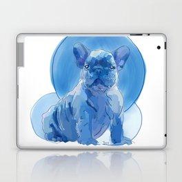 Monochromatic French Bulldog Laptop & iPad Skin
