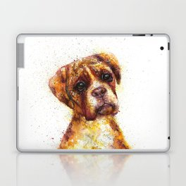 Dog Abstract watercolour prints Laptop & iPad Skin