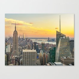 New York, New York 2 Canvas Print