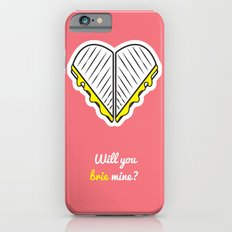 Cheesy Hearts - Brie iPhone 6 Slim Case
