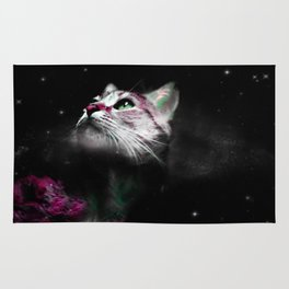 Supernova of the Ethereal Cat Rug