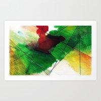Greenone Art Print