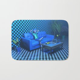 Blue Room Bath Mat