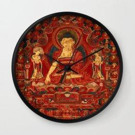 Buddha Shakyamuni as Lord of the Munis Wall Clock