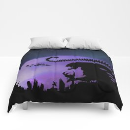Space Monsters Comforters