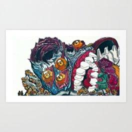 Mass Production Destruction (3/5)  Art Print