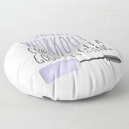 Morning Workout Floor Pillow