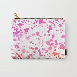 PINK SPLATTER Carry-All Pouch