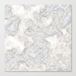 Paper Marble Canvas Print