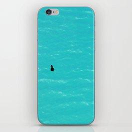 Duck on Water iPhone Skin