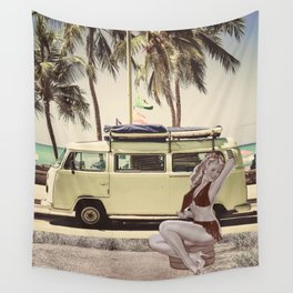 Summer time 3 Wall Tapestry