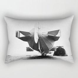 Stern of Zeppelin Airship - 1908 Rectangular Pillow