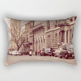 London Girl Rectangular Pillow