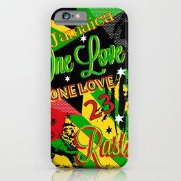 Reggae Rasta Party iPhone Case