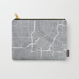 Minneapolis Map, Minnesota USA - Pewter Carry-All Pouch