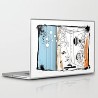 fear and loathing Laptop & iPad Skins featuring Fear and Loathing in Albuquerque II by Evan