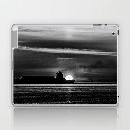 Silhouette... Black and White Laptop & iPad Skin