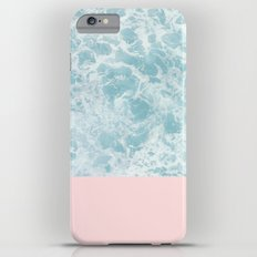 Pink on the Sea Slim Case iPhone 6s Plus