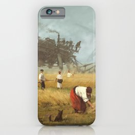 1920 - advanced harvest iPhone Case