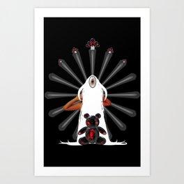 Teddy Dimension Art Print